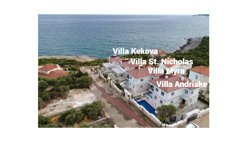 All Villas of Villa Noble Demre